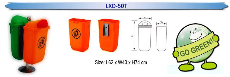 LXD-50T-Dustbin